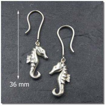 Ohrhänger Seepferdchen